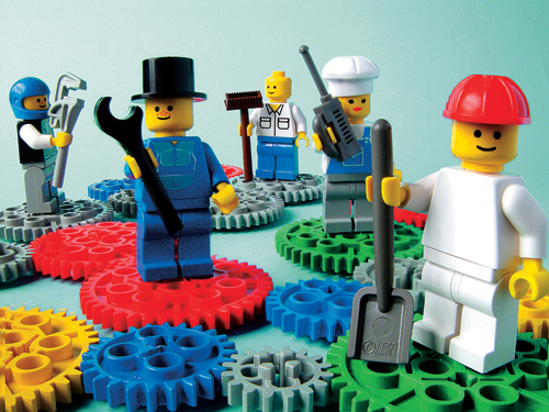 LEGO SERIOUS PLAY image